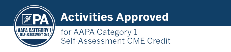 AAPA Category 1 Self Assessment CME